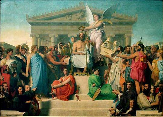 Ulysse ou l'Odyssée Apotheosedhomere