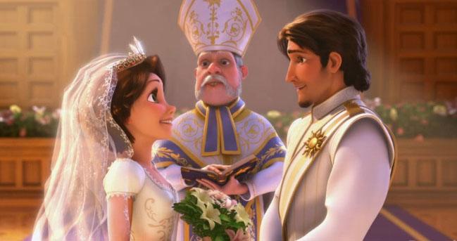 [NEWS] La Reine des neiges 2 prévue Raiponce_mariage_01