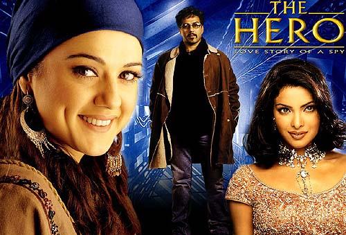 THE HERO: LOVE STORY OF A SPY (2003) con PRIYANKA CHOPRA + Sub. Español TheHero_2