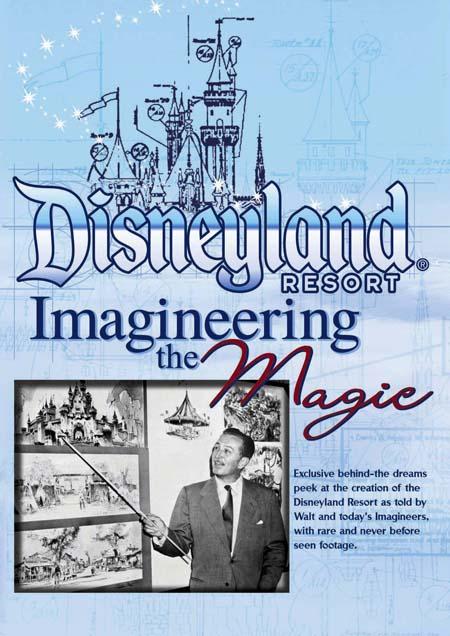 [DVD] Disneyland Resort Imagineering the Magic Disneydvd