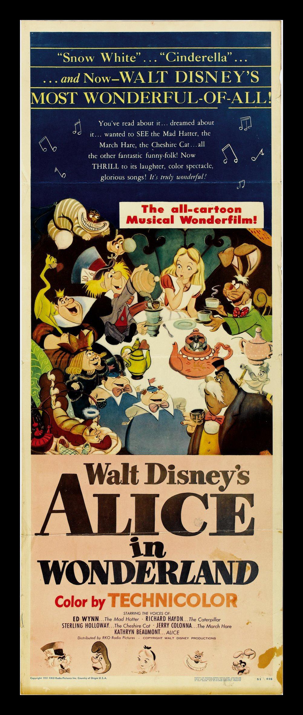 Alice au Pays des Merveilles [Walt Disney - 1951] - Page 5 Aliceins
