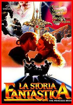 Poster italien du film Princess Bride Storfantas02