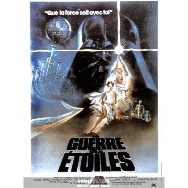 [Dessin]le visiteur du futur(parodie star wars) Guerre-des-etoiles-la-1977-affiche-francaise-originale