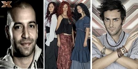 [AZM] Quando la bestia incontra i suoi simili - 1 Giuliano-Yavanna-Marco-X-Factor-3