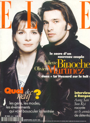 Zilijet Binos (Juliette Binoche) Cover