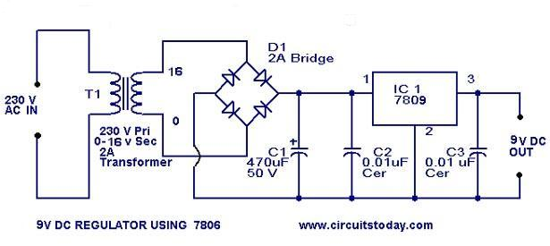 alim artisanale 9v-regulator-circuit