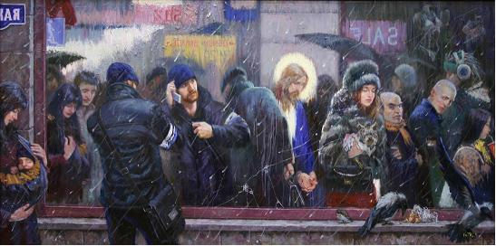 Картина молодого художника Владимира Киреева «Зеркало» 121842