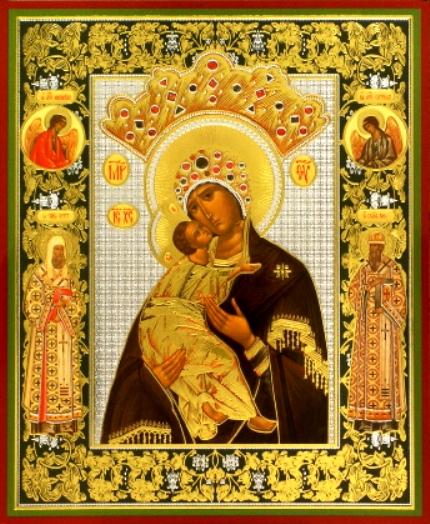 """Икона Божьей Матери """"Волоколамская"""" 37435"""