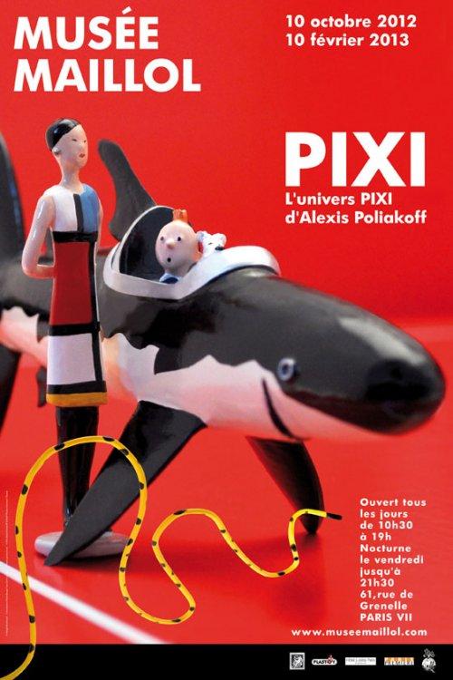 La grande histoire des aventures de Tintin. AffPixi560-065d6-3f75c