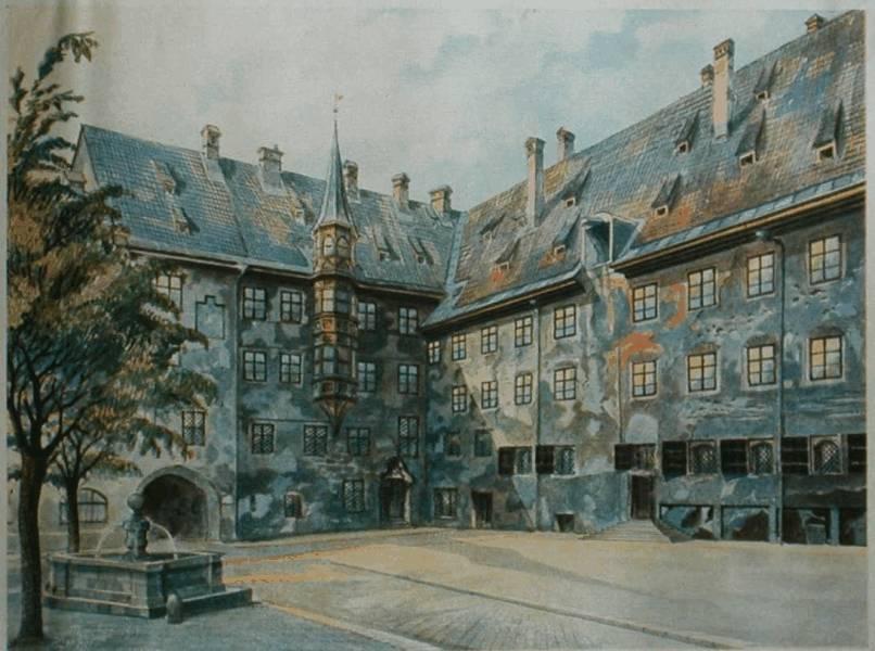 Pinturas realizadas por Adolf Hitler %2Bpinturahitler