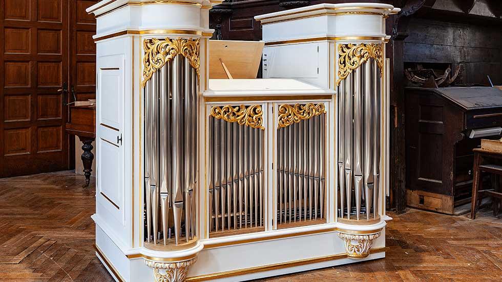 Orgues du facteur Blumenroeder pour le château de Versailles Orgue2