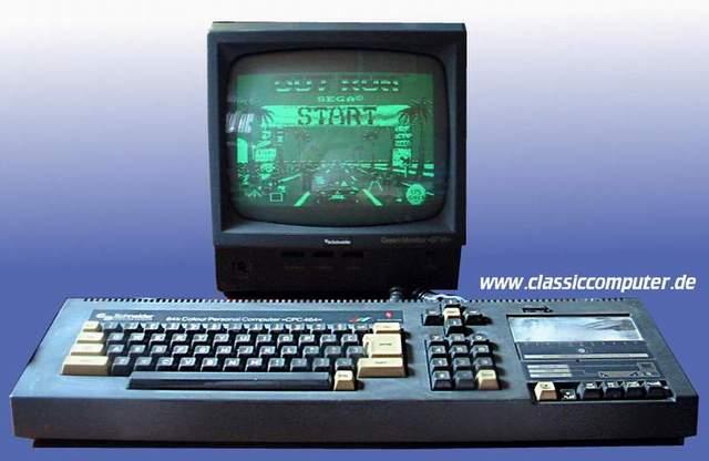 Quel a été votre première console ou ordi rétro et vos 1er jeux ? Cpc464main