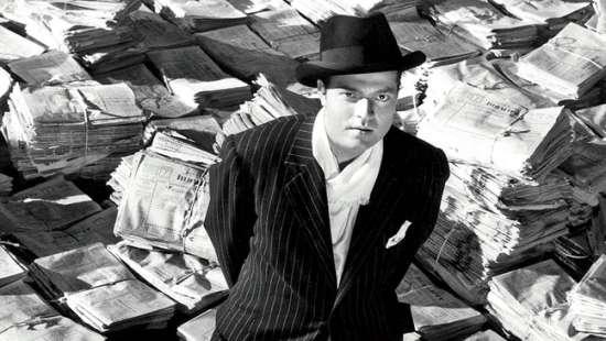 Orson Vels (Orson Welles) CitizenKaneWelles