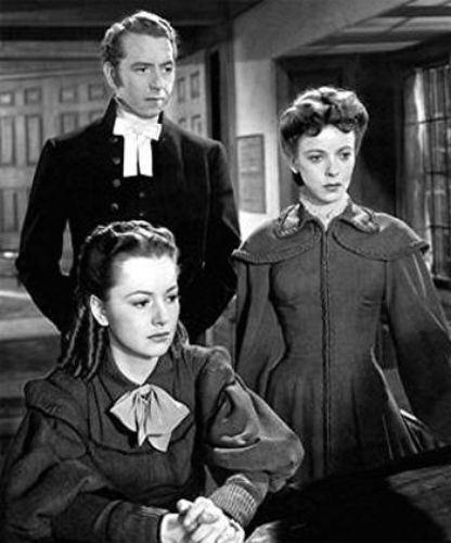 Devotion (1946), un film sur la famille Brontë Devotion4