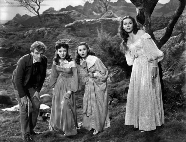 Devotion (1946), un film sur la famille Brontë Brontes-in-devotion