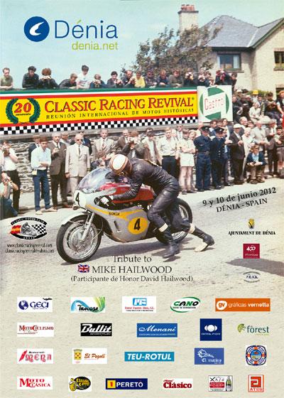 Classic Racing Revival Denia 2012 Poster2012m