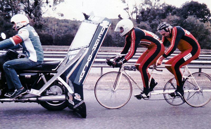 Tandem Schauff, années 80. Tandem_in_action