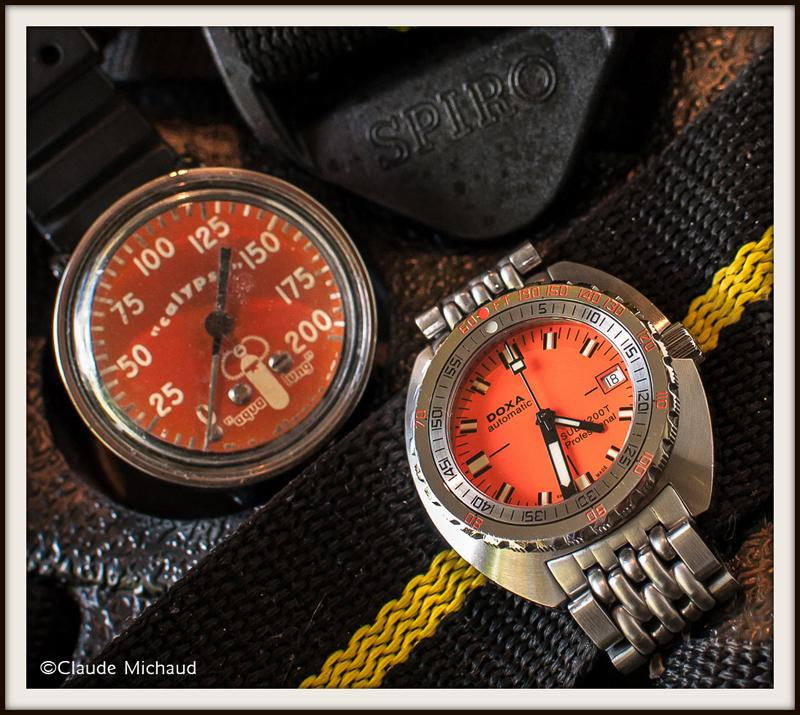 La montre du vendredi 16 janvier Doxa_calypso