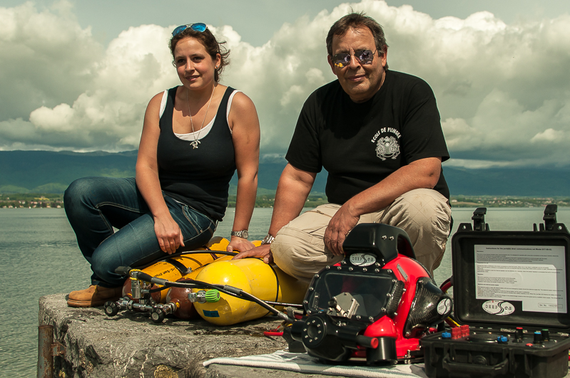 Enorme ! French Rebreather Meeting a Hermance Leman_2015-16