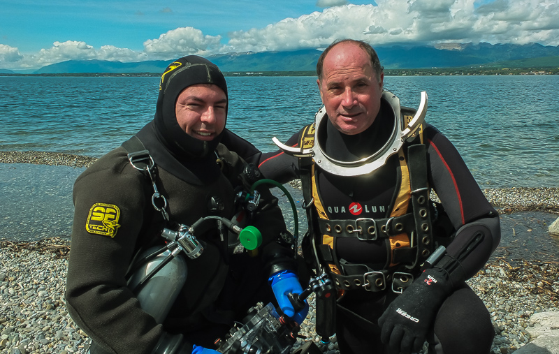 Enorme ! French Rebreather Meeting a Hermance Leman_2015-26
