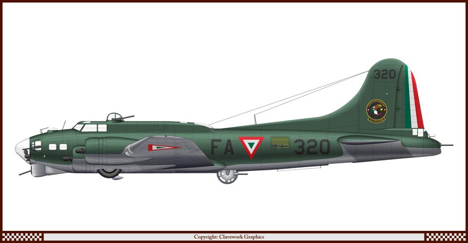 B-17 de la FAM....sixties.... F320_B17G_Mexico