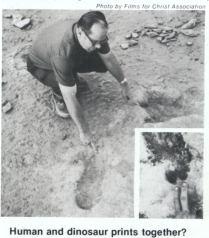Paléontologie fantastique  VonFangeTUDGlenRoseFootprints