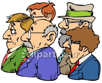 تقسيم السوق market segmentation 0060-0808-0802-4316_Group_of_Businessmen_Clip_Art_clipart_image