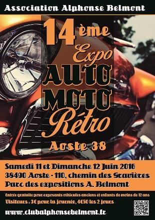 [38] 11/12 juin 14eme rassemblement Alphonse Belmont à Aoste Couverture-petite