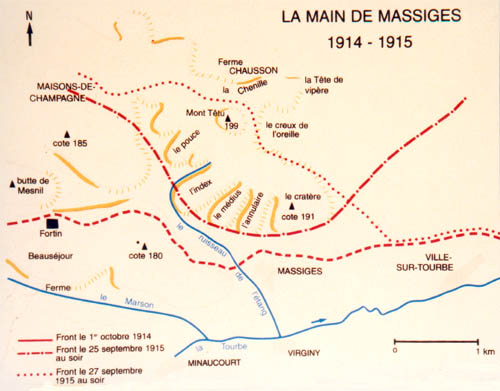 COTE 191 OU 91? Massiges_carte