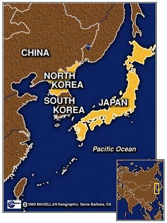 Mapa Mundo Português N.korea.japan.map