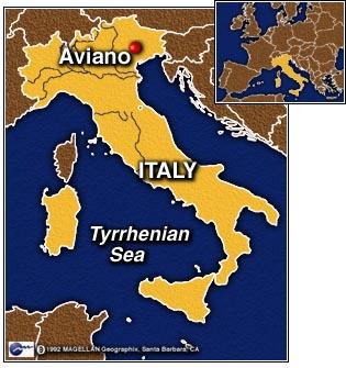 Italie - Vague 1978 Italy.aviano
