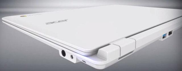 Acer Chromebook 13 : Tegra K1 à partir de 299 euros Acer_CB5_Chromebook