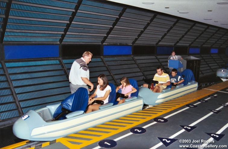 visite du Disney world magic Kingdom SpaceMountain1