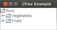 التعامل مع العناصر الرسومية فى الجافا باستخدام الشفرة (العنصر JTree) JTree%20Collapsed%20Parent%20Nodes