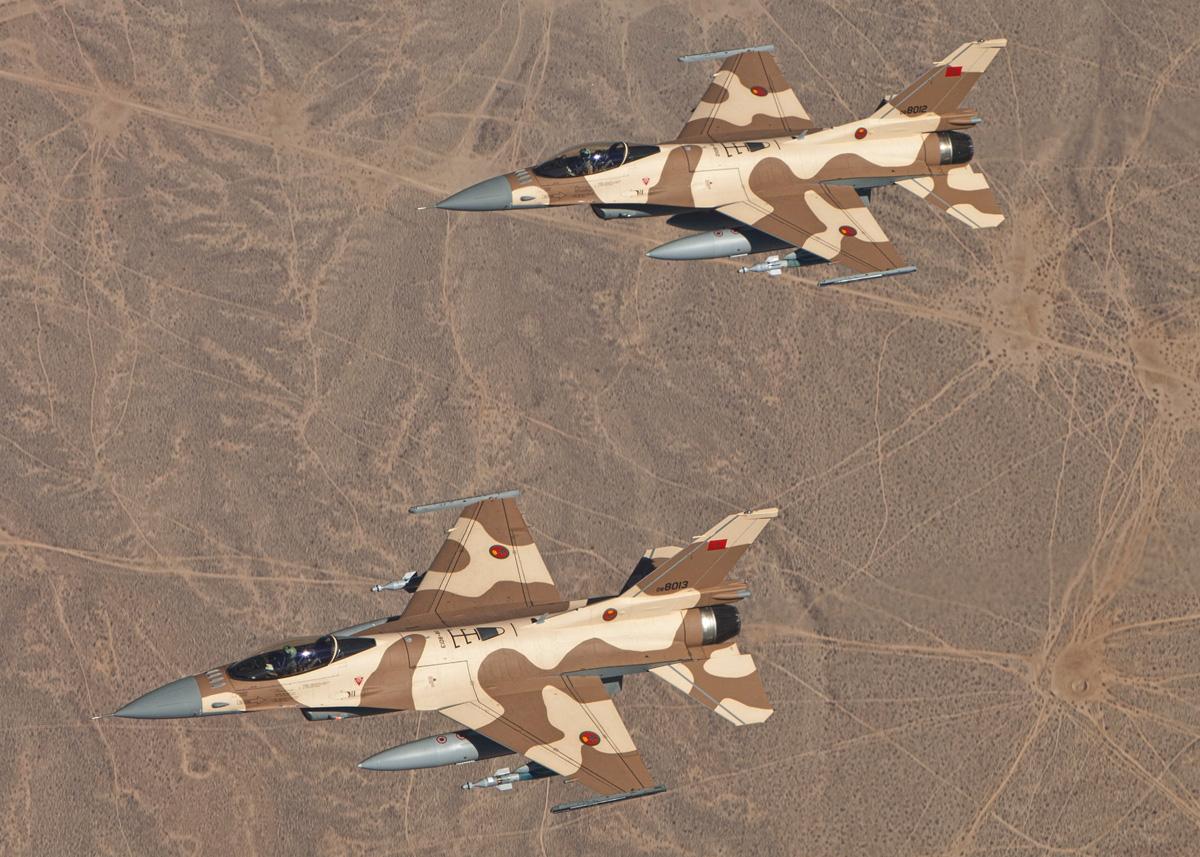 Moroccan F-16 Atlas Falcon / RMAF F16 block 52+ 2012_F16_Morocco_GBU_01_1267828237_2493