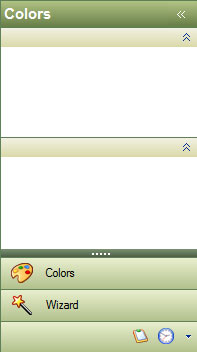 أداة القوائم للدوت نت Outlook Style Navigation Pane Control Office2003Green
