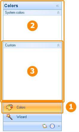 أداة القوائم للدوت نت Outlook Style Navigation Pane Control ButtonsBandsAndGroups