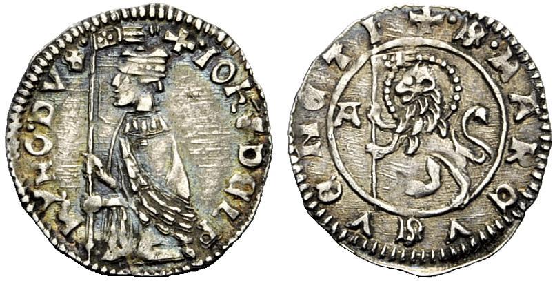 Italia (Venecia), soldino, Giovanni Dolfin 1356-1361. Image02640