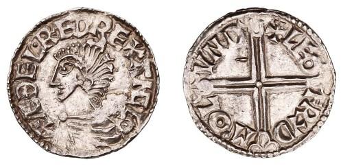 Penny del rey Aethelred II (978-1016) - Leofryd Image00023