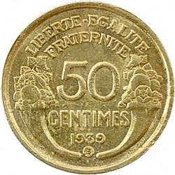 50 cents. Francia 1939 Ceca? 50ct_3R_rev_1939_1