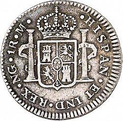 1 Real Carlos IV 1790 Nueva Guatemala 1R_C4_rev_1790M_1_Ga