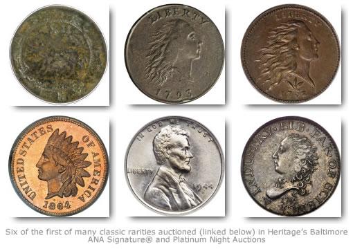 Retki novčići Heritage-Baltimore-ANA-Signature-Platinum-Night-Rare-Coins
