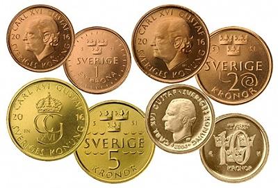 Descubren en Suecia que las monedas de cobre se oxidan, y les preocupa Swedish_coins