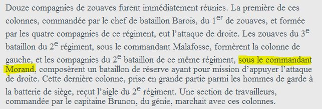 Le sabre de Napoléon Morand. L'histoire d'un sabre.  Morandbattle3