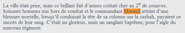 Le sabre de Napoléon Morand. L'histoire d'un sabre.  Morandbattle4