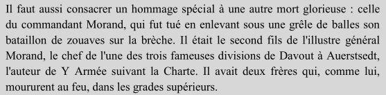 Le sabre de Napoléon Morand. L'histoire d'un sabre.  Morandsdeath