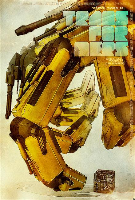[Pro Art et Fan Art] Artistes à découvrir: Séries Animé Transformers, Films Transformers et non TF - Page 3 Opasinski-transformers-poster