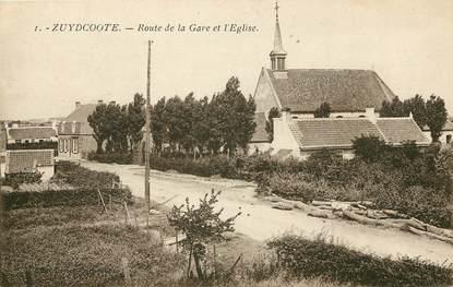 Par ordre alphabétique, des villes et des villages . Preview_cpa-france-59-zuydcoote-rte-de-la-gare