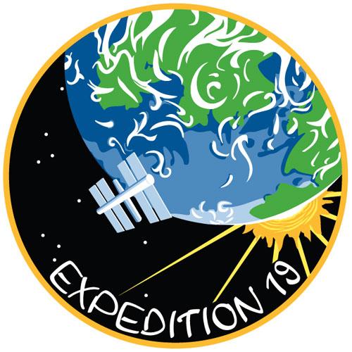 Soyouz TMA 14 - lancement et mission Iss19_patch01
