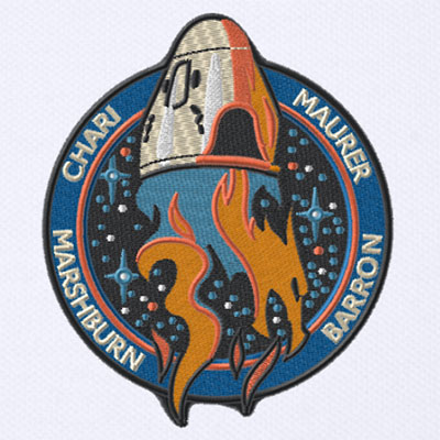 Falcon 9 (Crew Dragon USCV-3) - KSC - 23.10.2021 Spacex_crew3_patch01